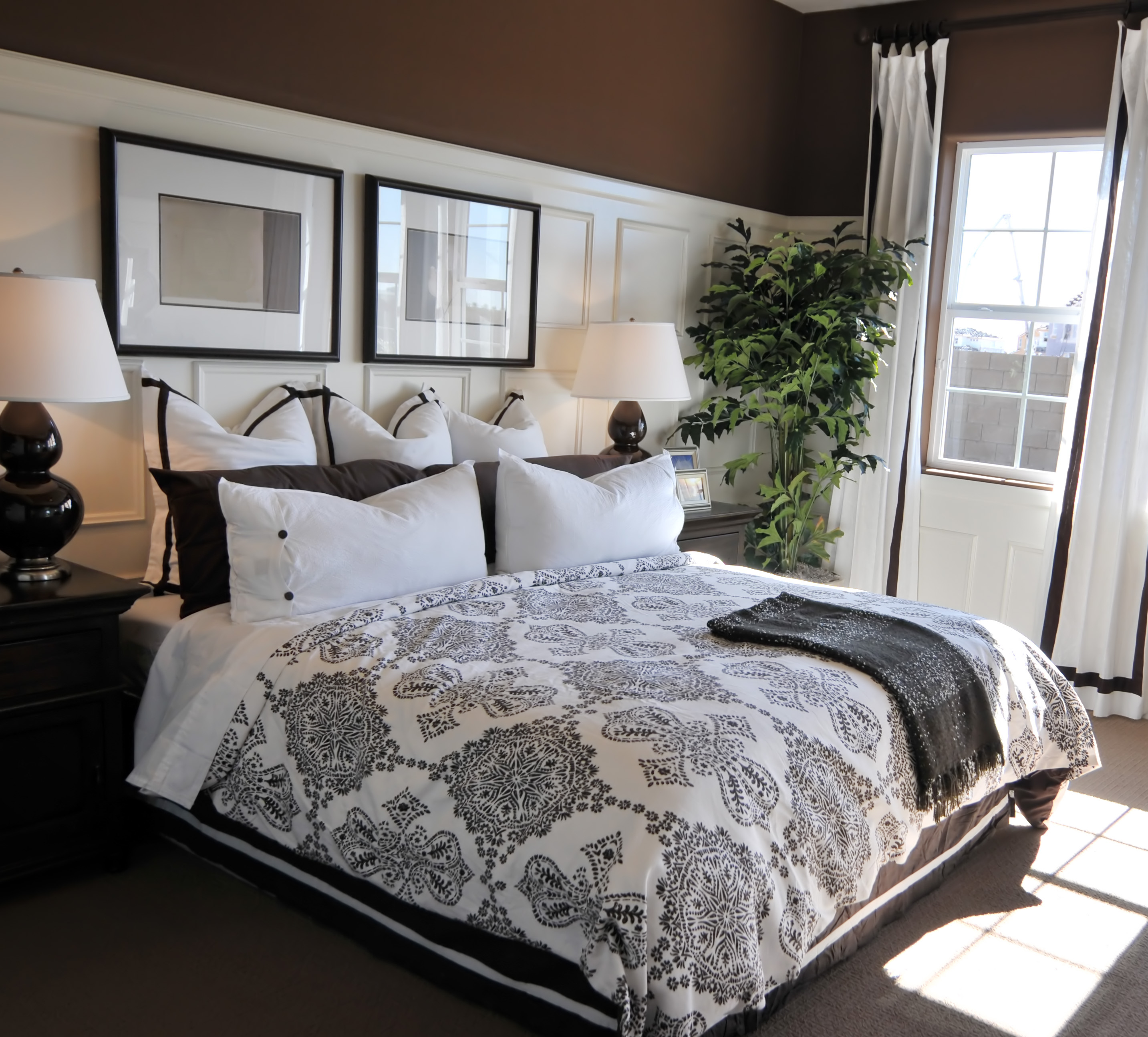 Custom bedroom panels drawn for Beautiful bedroom pictures only