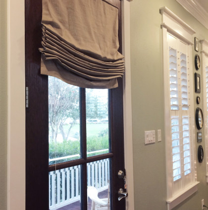 Door Shades and Panels